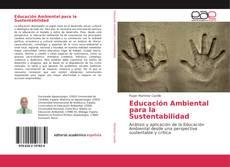 Capa do livro de Educación Ambiental para la Sustentabilidad