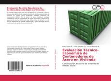 Portada del libro de Evaluación Técnico-Económica de Contenedores de Acero en Vivienda