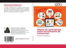 Buchcover von Objeto de aprendizaje como herramienta de instrucción