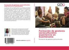 Portada del libro de Formación de gestores socioculturales: experiencia en Guantánamo