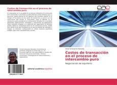 Buchcover von Costos de transacción en el proceso de intercambio puro