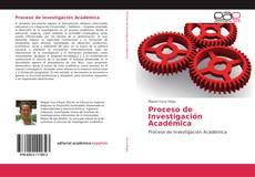 Обложка Proceso de Investigación Académica