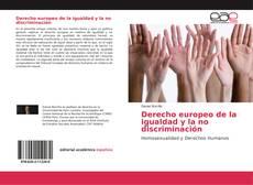 Portada del libro de Derecho europeo de la igualdad y la no discriminación
