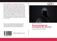 Capa do livro de Demonología en evangelio de Marcos