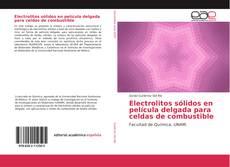Bookcover of Electrolitos sólidos en película delgada para celdas de combustible