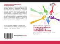Portada del libro de Empoderamiento organizativo afrodescendiente