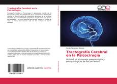 Portada del libro de Tractografía Cerebral en la Psicocirugía