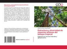 Couverture de Estructura y diversidad de especies leñosas del bosque tropical