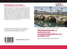 Bookcover of Medioambiente y estructuras sociodemográficas en el Miño-Sil
