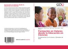 Capa do livro de Formación en Valores desde la Educación en Ciencias