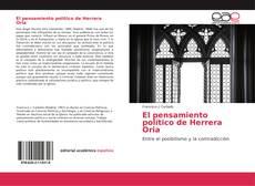 Bookcover of El pensamiento político de Herrera Oria