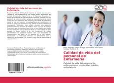 Portada del libro de Calidad de vida del personal de Enfermería