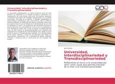 Copertina di Universidad, Interdisciplinariedad y Transdisciplinariedad