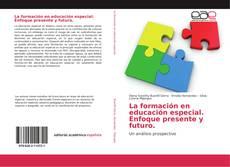 Portada del libro de La formación en educación especial. Enfoque presente y futuro