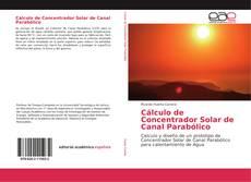 Portada del libro de Cálculo de Concentrador Solar de Canal Parabólico