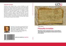 Bookcover of Filosofía invisible