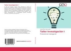 Обложка Taller Investigación I