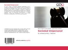 Buchcover von Sociedad Unipersonal