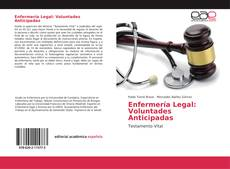 Portada del libro de Enfermería Legal: Voluntades Anticipadas