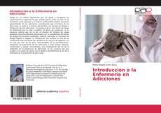 Portada del libro de Introduccion a la Enfermeria en Adicciones