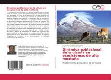 Bookcover of Dinámica poblacional de la vicuña en ecosistemas de alta montaña