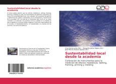 Couverture de Sustentabilidad local desde la academia