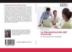 Обложка La Deconstrucción del Currículo