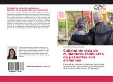 Portada del libro de Calidad de vida de cuidadores familiares de pacientes con alzheimer