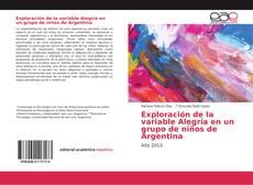 Exploración de la variable Alegría en un grupo de niños de Argentina的封面