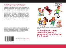 Capa do livro de La biodanza como mediador socio emocional en niños de 5 a 6 años