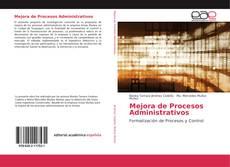 Couverture de Mejora de Procesos Administrativos