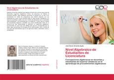 Bookcover of Nivel Algebraico de Estudiantes de Licenciatura