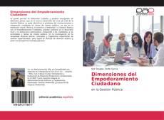 Portada del libro de Dimensiones del Empoderamiento Ciudadano