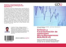 Portada del libro de Síntesis y Caracterización de materiales Micro/Mesoporosos BEA/MCM-41