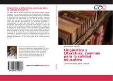 Portada del libro de Lingüística y Literatura, caminos para la calidad educativa