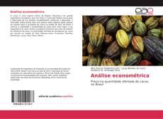 Bookcover of Análise econométrica