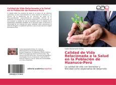 Portada del libro de Calidad de Vida Relacionada a la Salud en la Población de Huanuco-Perú