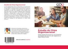 Capa do livro de Estudio de Clima Organizacional