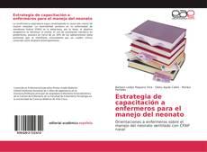 Buchcover von Estrategia de capacitación a enfermeros para el manejo del neonato