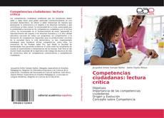 Portada del libro de Competencias ciudadanas: lectura crítica