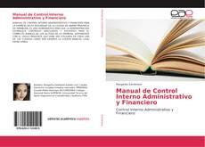 Capa do livro de Manual de Control Interno Administrativo y Financiero
