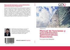 Portada del libro de Manual de funciones y procedimientos administrativos financieros