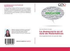 Capa do livro de La democracia en el aula de Matemáticas