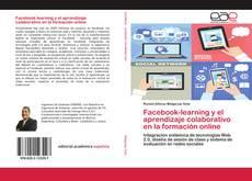 Portada del libro de Facebook-learning y el aprendizaje colaborativo en la formación online