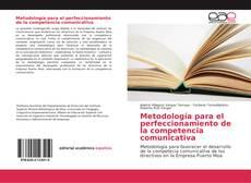 Portada del libro de Metodología para el perfeccionamiento de la competencia comunicativa