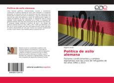Bookcover of Política de asilo alemana