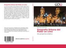 Copertina di Geografía Urbana del Poder en Lima