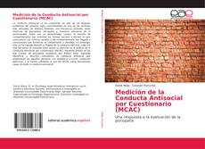 Medición de la Conducta Antisocial por Cuestionario (MCAC) kitap kapağı