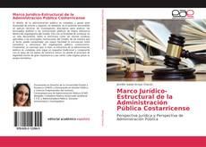 Capa do livro de Marco Jurídico-Estructural de la Administración Pública Costarricense