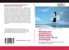 Portada del libro de Modelación Estadístico Matemática: Evaluación de la estrategia